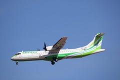 Aéronefs de compagnies aériennes de Binter Photographie stock