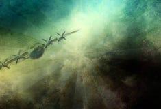 Aéronefs de cru Images libres de droits