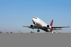 Aéronefs de décollage Images libres de droits