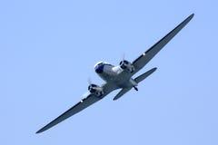 Aéronefs de Douglas DC-3 Photographie stock libre de droits