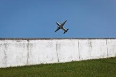 Aéronefs de Militar en vol. Image libre de droits