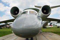 Aéronefs de reconnaissance dans l'airfiel Photo stock