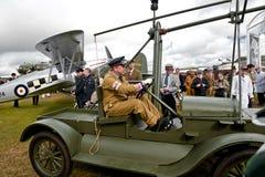 Aéronefs de temps de la deuxième guerre mondiale Image libre de droits
