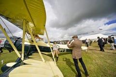 Aéronefs de temps de la deuxième guerre mondiale Images stock