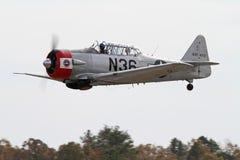 Aéronefs de Texan de la deuxième guerre mondiale T-6 Image libre de droits