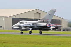 Aéronefs de tornade Images libres de droits