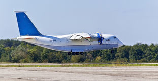 Aéronefs de transport d'Antonov An-70 Photos stock