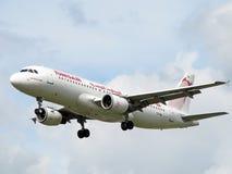 Aéronefs de Tunisair Photos libres de droits