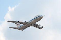 Aéronefs du commandement Il-80 et du contrôle Photographie stock libre de droits