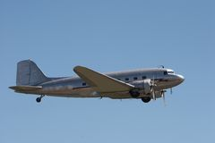 Aéronefs en vol image stock