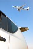 Aéronefs et véhicules Images stock