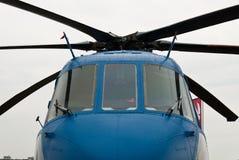 Aéronefs - hélicoptère militaire Photos stock