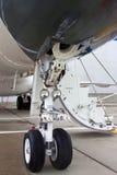 Aéronefs légers avant de train d'atterrissage Images libres de droits