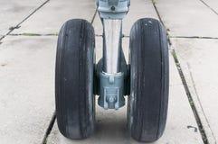 Aéronefs légers avant de train d'atterrissage Photo libre de droits