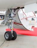 Aéronefs légers avant de train d'atterrissage Photos libres de droits