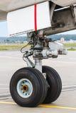 Aéronefs légers avant de train d'atterrissage Image libre de droits