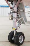 Aéronefs légers avant de train d'atterrissage Photo stock