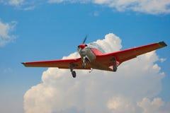 Aéronefs légers en vol Photos libres de droits