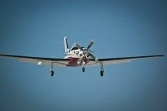 Aéronefs légers en vol Images stock