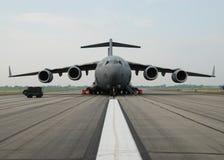 Aéronefs militaires d'avion de l'Armée de l'Air Image libre de droits