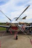 Aéronefs Pilatus PC-12/47E d'affaires Photo libre de droits