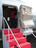 Aéronefs - porte d'embarquement et d'atterrissage Photo libre de droits