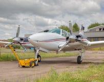 Aéronefs privés Images stock