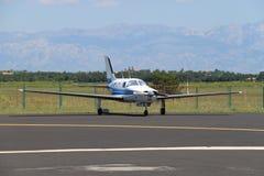 Aéronefs privés dans Zadar, Croatie Photographie stock