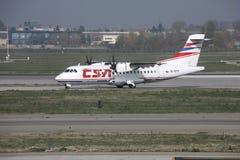 Aéronefs régionaux - ATR Photo stock