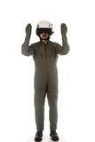 Aéronefs rassemblants pilotes militaires Photographie stock libre de droits