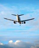 Aéronefs sur le ciel bleu Photographie stock