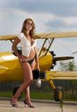 Aéronefs WW1 et modèle Images stock