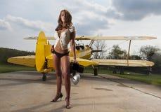 Aéronefs WW1 et modèle Photo libre de droits