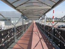 Aéroport à Bergame Orio Al Serio Photographie stock libre de droits