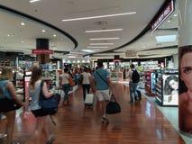 Aéroport à Bergame Orio Al Serio Photographie stock