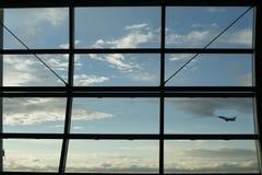 Aéroport à Bruxelles Photo libre de droits
