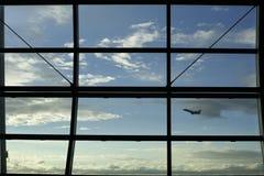 Aéroport à Bruxelles Photographie stock