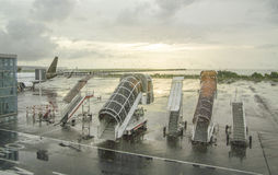 Aéroport à Denpasar Photos stock