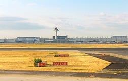 Aéroport à Francfort, Allemagne Photographie stock