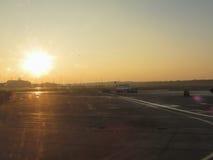 Aéroport à Hambourg Images libres de droits