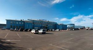 Aéroport à Irkoutsk Images libres de droits