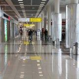 Aéroport à Moscou Photos libres de droits