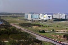 Aéroport, à Séoul, la Corée du Sud Image stock