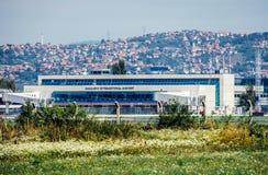 Aéroport à Sarajevo Photos libres de droits