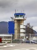 Aéroport à Sarajevo La Bosnie-et-Herzégovine Images libres de droits