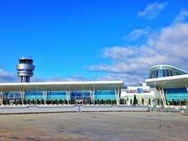 Aéroport à Sofia Photos libres de droits