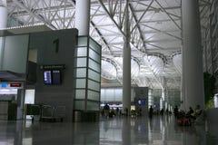Aéroport 2 de nuit Photo libre de droits