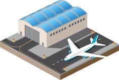 aéroport illustration libre de droits