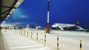 aéroport Images libres de droits