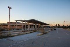 Aéroport abandonné Image libre de droits